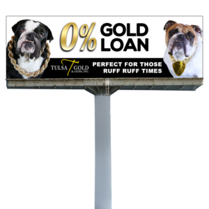 Tulsa Gold Billboard