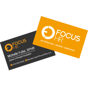 Focus HR Business Card